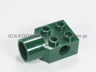 #48169 テクニック  ブロック 2x2 ローテーションジョイントソケット【濃緑】 /Technic Brick 2x2 with Hole :[Dark Green]