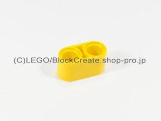 #43857 テクニック リフトアーム 1x2【黄色】 /Beam 2 :[Yellow]