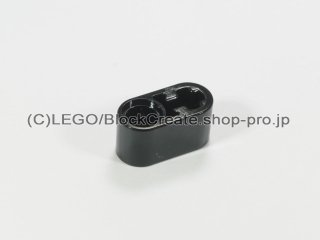 #60483 テクニック リフトアーム 1x2 軸/ピン穴【黒】 /Beam 1x2 with Axle Hole and Pin Hole :[Black]