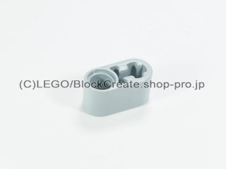 #60483 テクニック リフトアーム 1x2 軸/ピン穴【新灰】 /Beam 1x2 with Axle Hole and Pin Hole :[Light Bluish Gray]