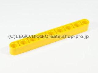 #40490 テクニック リフトアーム 1x9【黄色】 /Beam 9 :[Yellow]