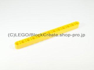 #41239 テクニック リフトアーム 1x13【黄色】 /Beam 13 :[Yellow]