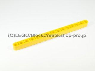 #32278 テクニック リフトアーム 1x15【黄色】 /Beam 15 :[Yellow]
