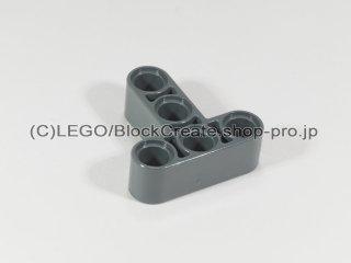 #60484 テクニック リフトアーム 3x3 T字【新濃灰】 /Beam 3x3 T-shaped :[Dark Bluish Gray]