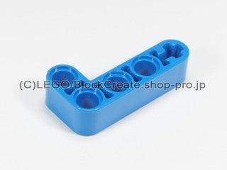 #32140 テクニック リフトアーム 2x4 L字【青】 /Beam 2x4 Bent 90 Degrees, 2 and 4 holes :[Blue]