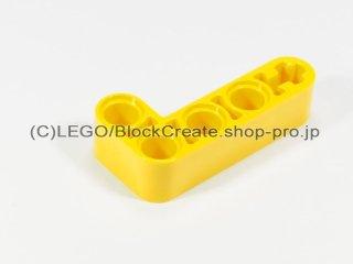 #32140 テクニック リフトアーム 2x4 L字【黄色】 /Beam 2x4 Bent 90 Degrees, 2 and 4 holes :[Yellow]
