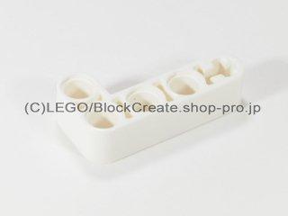 #32140 テクニック リフトアーム 2x4 L字【白】 /Beam 2x4 Bent 90 Degrees, 2 and 4 holes :[White]