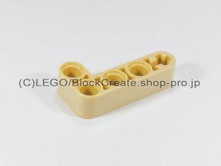 #32140 テクニック リフトアーム 2x4 L字【タン】 /Beam 2x4 Bent 90 Degrees, 2 and 4 holes :[Tan]