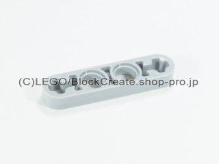 #32449 テクニック リフトアーム 1x4 薄型【新灰】 /Technic Beam 4x0.5 with Axle Hole each end :[Light Bluish Gray]