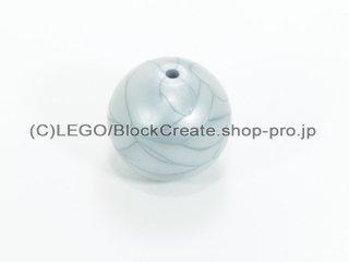 #54821 バイニクル スフィア【ツヤ消銀】 /Technic Bionicle Ball 16.5 mm :[Flat Silver]