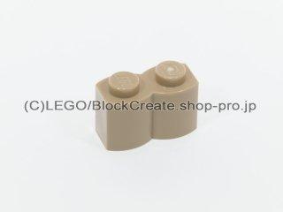 #30136 ブロック 1x2 丸太【ダークタン】 /Brick 1x2 Log :[Dark Tan]