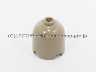 #30151 ラウンド 2x2x1 2/3 ドームトップ【ダークタン】 /Cylinder 2x2x1&2/3 with Dome Top :[Dark Tan]