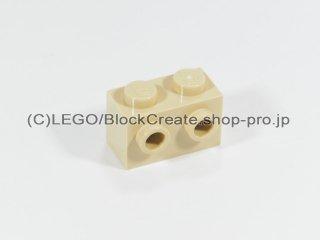 #11211 ブロック 1x2 1面スタッド【タン】 /Brick 1x2 with Studs on 1 Side :[Tan]