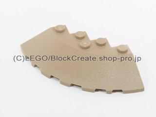 #95188 ブロック ラウンドコーナー 6x6 スロープ 33°【ダークタン】 /Brick 6x6 Corner Round :[Dark Tan]