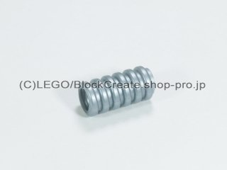 #22055 リブホース 7Dx2M 16mm【ツヤ消銀】 /Corrugated Hose 1.6cm :[Flat Silver]