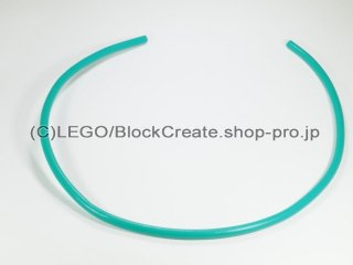 #21986 ハードホース 3mmDx36L 288mm【ダークターコイズ】 /Plastic Hose 28.8cm :[Dark Turquoise]