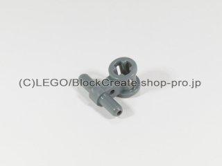 #99021 空気圧 ホースコネクター【新濃灰】 /Bushing with Pneumatic Connectors :[Dark Bluish Gray]