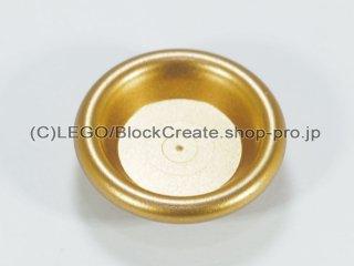#6256 ディナープレート【ツヤ消金】 /Minifig Dinner Plate :[Metallic Gold]