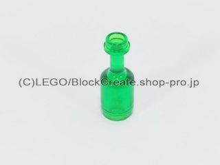 #95228 ボトル【透明緑】 /Minifig Bottle 1x1x2 :[Tr,Green]