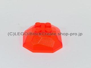 #30293 ロック トップ 【透明蛍光オレンジ】 /Rock 4x4 Top :[Tr,Neon Orange]