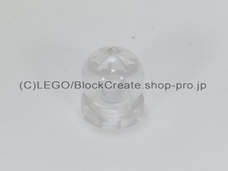 #30106 水晶玉 2x2【透明】 /Tile 2x2 Round with Globe 2x2x2 :[Tr,Clear]