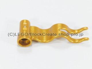 #4495 ウェーブフラッグ 旗 4x1【ツヤ消金】 /Streamer Flag 4x1 :[Metallic Gold]