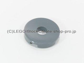 #15535 タイル 2x2 ラウンド センター穴【新濃灰】 /Tile 2x2 Round with Hole in Center:[Dark Bluish Gray]