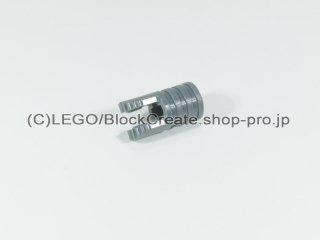 #30553 シリンダー ヒンジ 1x2 【新濃灰】 /Locking Hinge Arm with Two Fingers and Axle Hole :[Dark Bluish Gray]