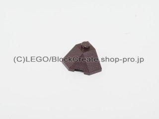 #13548 ウェッジ 2x2 【濃茶】 /Slope 45 Wedge Corner 2x2 :[Dark Brown]
