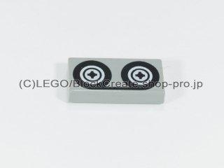 #3069 タイル 1x2 フラット テープ 【旧灰】 /Tile 1x2 with Tape Reels  :[Gray]