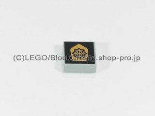 #3070 タイル 1x1 フラット ポリス 【旧灰】 /Tile 1x1 with Decoration :[Gray]