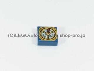 #3070 タイル 1x1 フラット コンパス【紺】 /Tile 1x1 with Compass Decoration :[Dark Blue]