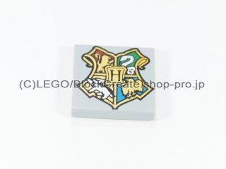 #3068 タイル 2x2 フラット プリント 【新灰】 /Tile 2x2 with Decoration :[Light Bluish Gray]