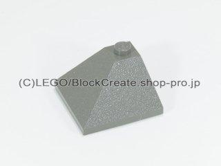 #3675 スロープ ブロック 33° 3x3 2面スロープ  【旧濃灰】 /Slope Brick 33° 3x3 Double Convex  :[Dark Gray]