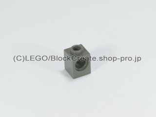 #6541 テクニック  ブロック 1x1 【旧濃灰】 /Technic Brick 1x1 with Holes :[Dark Gray]