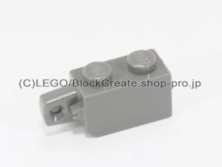 #30364  ヒンジ ブロック 1x2 垂直ロック 【旧濃灰】 /Hinge Brick 1x2 Locking with Single Finger On End :[Dark Gray]