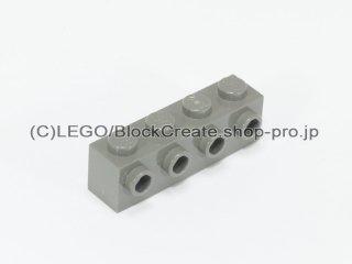 #30414 ブロック 1x4 片面スタッド 【旧濃灰】 /Brick  1x4 with 4 Studs on 1 Side :[Dark Gray]
