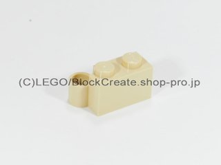 #3831  ヒンジ ブロック 1x4 ベース 【タン】 /Hinge Brick 1x4 Base :[Tan]