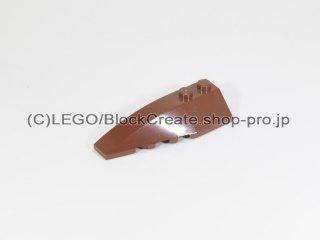 #41748 ウェッジ 2x6 左【新茶】 /Wedge 2x6 Double Left :[Reddish Brown]