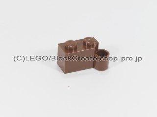 #3831  ヒンジ ブロック 1x4 ベース 【新茶】 /Hinge Brick 1x4 Base :[Reddish Brown]
