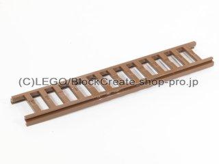 #4207 はしご 2.5x14 スライド  【旧茶】 /Ladder 2.5x14  :[Brown]