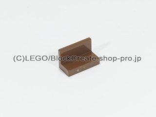 #4865 パネル 1x2x1 【旧茶】 /Panel 1x2x1 :[Brown]