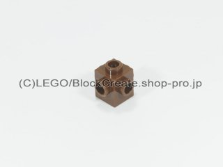 #4733 ブロック 1x1 4面スタッド【旧茶】 /Brick 1x1 with Studs on Four Sides :[ Brown]
