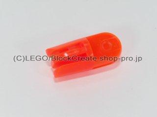 #412 アームパーツ 回転 【透明蛍光オレンジ】 /Arm Piece Turned with 2 and 3 Stubs :[Tr,Neon Orange]