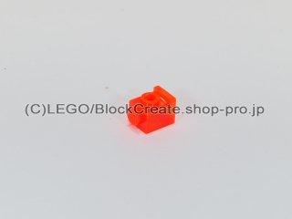 #4070 ブロック 1x1 ヘッドライト【透明蛍光オレンジ】 /Brick 1x1 with Headlight :[Tr,Neon Orange]