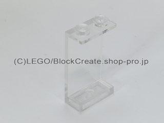 #2362 パネル 1x2x3  【透明】 /Panel 1x2x3 Solid Studs  :[Tr,Clear]