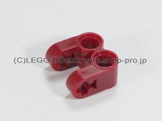 #41678 テクニック 軸/ピンコネクター 2x2 垂直ダブル【エンジ】 /Technic Cross Block 2x2 Split :[Dark Red]