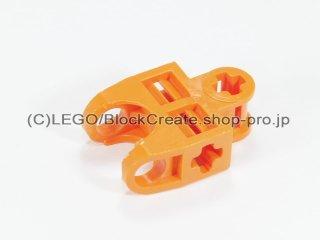 #32174 テクニック 軸コネクター 2x3 ボールソケット【オレンジ】 /Ball Connector with Perpendicular Axelholes :[Orange]