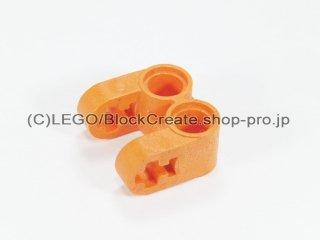 #41678 テクニック 軸/ピンコネクター 2x2 垂直ダブル【オレンジ】 /Technic Cross Block 2x2 Split :[Orange]