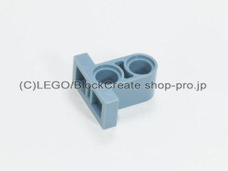 #32530 テクニック ピンコネクター プレート 1x2x1.6【青灰】 /Tile 1x2 with Perpendicular Beam 2 :[Sand Blue]